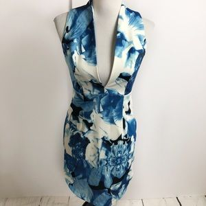Lulu's body con floral mini dress